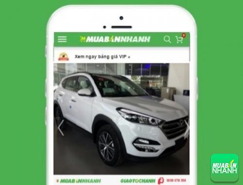 Xe ôtô Hyundai Tucson - sản phẩm đang bán trên mạng xã hội MuaBanNhanh