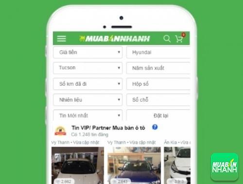Tìm mua xe ôtô Hyundai Tucson hiệu quả trên Mạng xã hội MuaBanNhanh