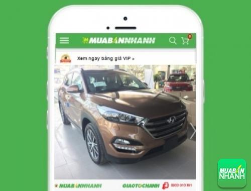 Xe ôtô Hyundai Tucson 2.0 AT tiêu chuẩn  - sản phẩm đang bán trên mạng xã hội MuaBanNhanh