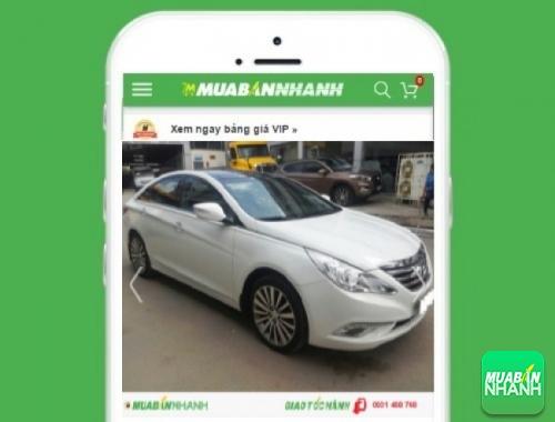 Xe ôtô Hyundai Sonata - sản phẩm đang bán trên mạng xã hội MuaBanNhanh