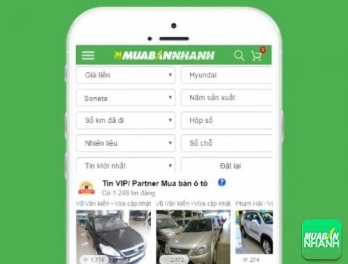 Tìm mua xe ôtô Hyundai Sonata hiệu quả trên Mạng xã hội MuaBanNhanh