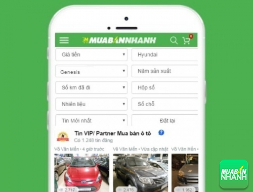 Tìm mua xe ôtô Hyundai Genesis hiệu quả trên Mạng xã hội MuaBanNhanh