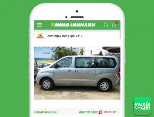Xe ôtô Hyundai Starex - sản phẩm đang bán trên mạng xã hội MuaBanNhanh