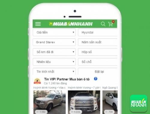Tìm mua xe ôtô Hyundai Starex hiệu quả trên Mạng xã hội MuaBanNhanh