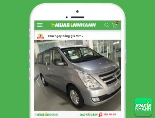 Xe ôtô Hyundai Starex 2.4 MT 9 chỗ máy xăng - sản phẩm đang bán trên mạng xã hội MuaBanNhanh