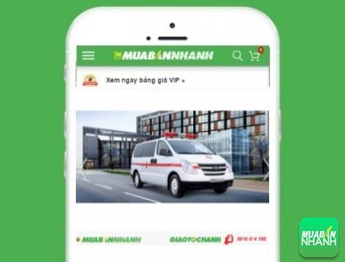 Xe ôtô Hyundai Starex 2.4 MT cứu thương máy xăng - sản phẩm đang bán trên mạng xã hội MuaBanNhanh