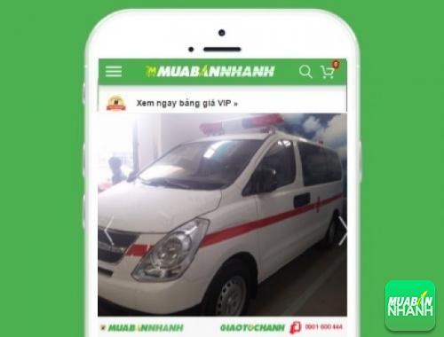 Xe ôtô Hyundai Starex 2.5 MT cứu thương máy dầu - sản phẩm đang bán trên mạng xã hội MuaBanNhanh