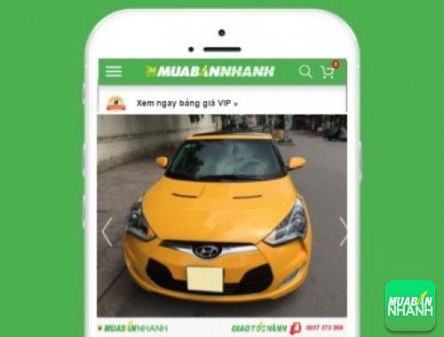 Xe ôtô Hyundai Veloster - sản phẩm đang bán trên mạng xã hội MuaBanNhanh