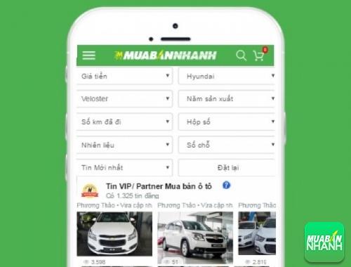 Tìm mua xe ôtô Hyundai Veloster hiệu quả trên Mạng xã hội MuaBanNhanh
