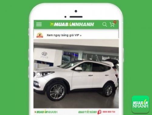 Xe ôtô Hyundai SantaFe - sản phẩm đang bán trên mạng xã hội MuaBanNhanh