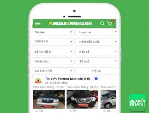 Tìm mua xe ôtô Hyundai SantaFe hiệu quả trên Mạng xã hội MuaBanNhanh