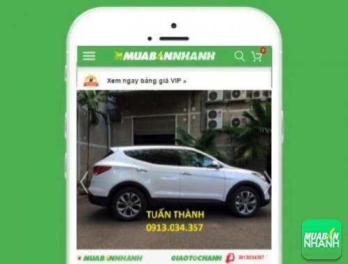 Xe ôtô Hyundai SantaFe 5 chỗ máy xăng - sản phẩm đang bán trên mạng xã hội MuaBanNhanh