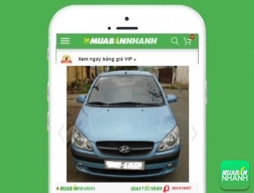 Xe ôtô Hyundai Getz - sản phẩm đang bán trên mạng xã hội MuaBanNhanh