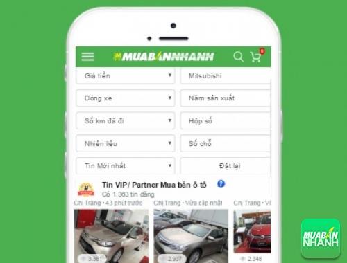 Tìm mua xe ôtô Mitsubishi hiệu quả trên Mạng xã hội MuaBanNhanh