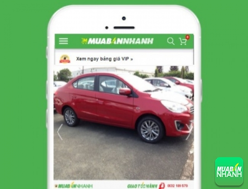 Xe ôtô Mitsubishi Attrage - sản phẩm đang bán trên mạng xã hội MuaBanNhanh