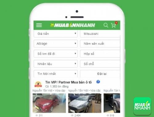 Tìm mua xe ôtô Mitsubishi Attrage hiệu quả trên Mạng xã hội MuaBanNhanh
