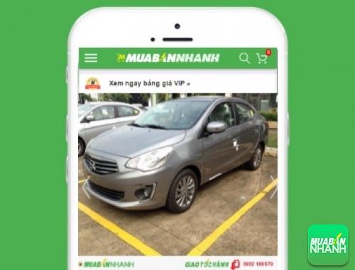Xe ôtô Mitsubishi Attrage 1.2 CVT - sản phẩm đang bán trên mạng xã hội MuaBanNhanh