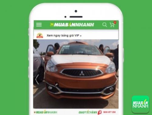 Xe ôtô Mitsubishi Attrage 1.2 MT - sản phẩm đang bán trên mạng xã hội MuaBanNhanh