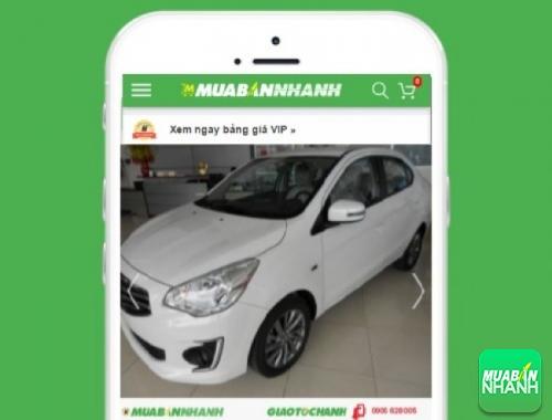 Xe ôtô Mitsubishi Attrage 1.2 MT STD - sản phẩm đang bán trên mạng xã hội MuaBanNhanh