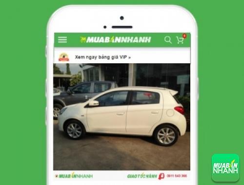 Xe ôtô Mitsubishi Mirage 1.2 MT - sản phẩm đang bán trên mạng xã hội MuaBanNhanh