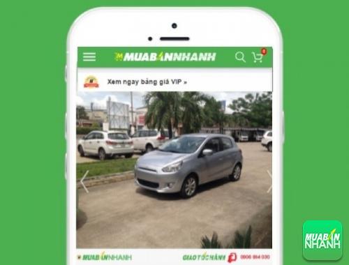 Xe ôtô Mitsubishi Mirage 1.2 AT - sản phẩm đang bán trên mạng xã hội MuaBanNhanh