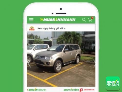 Xe ôtô Mitsubishi Pajero - sản phẩm đang bán trên mạng xã hội MuaBanNhanh