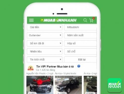 Tìm mua xe ôtô Mitsubishi Outlander hiệu quả trên Mạng xã hội MuaBanNhanh