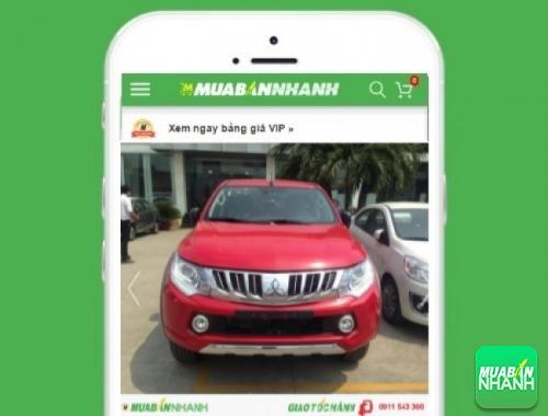 Xe ôtô Mitsubishi Triton - sản phẩm đang bán trên mạng xã hội MuaBanNhanh
