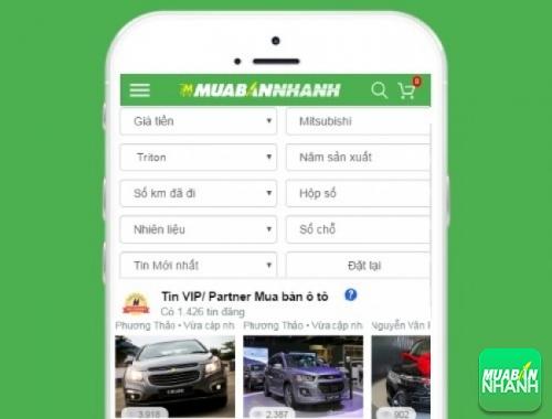 Tìm mua xe ôtô Mitsubishi Triton hiệu quả trên Mạng xã hội MuaBanNhanh