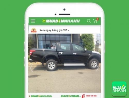 Xe ôtô Mitsubishi Triton 2.4 GL máy xăng số sàn - sản phẩm đang bán trên mạng xã hội MuaBanNhanh