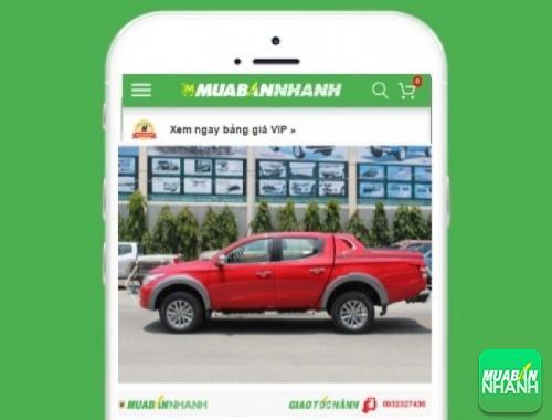 Xe ôtô Mitsubishi Triton 2.5 GLX máy dầu số sàn - sản phẩm đang bán trên mạng xã hội MuaBanNhanh