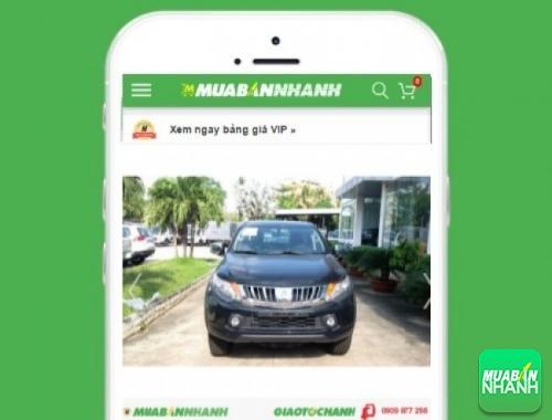 Xe ôtô Mitsubishi Triton 2.5 GLS máy dầu số tự động - sản phẩm đang bán trên mạng xã hội MuaBanNhanh