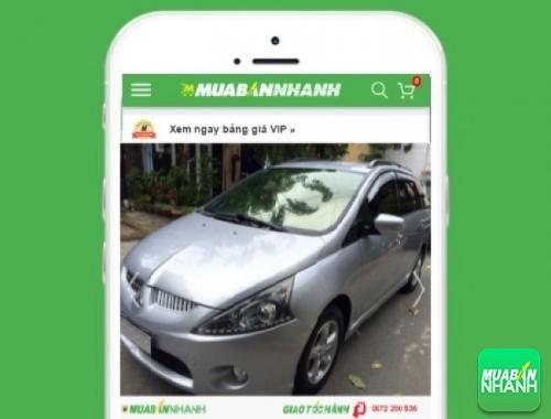 Xe ôtô Mitsubishi Grandis - sản phẩm đang bán trên mạng xã hội MuaBanNhanh