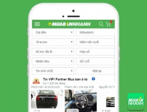 Tìm mua xe ôtô Mitsubishi Grandis hiệu quả trên Mạng xã hội MuaBanNhanh