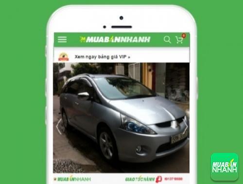 Xe ôtô Mitsubishi Grandis 2.4L AT - sản phẩm đang bán trên mạng xã hội MuaBanNhanh