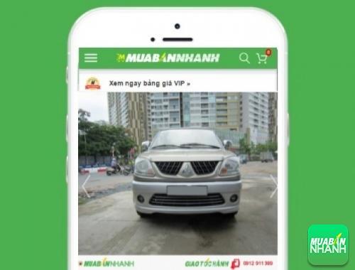 Xe ôtô Mitsubishi Jolie - sản phẩm đang bán trên mạng xã hội MuaBanNhanh