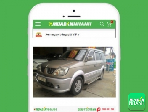 Xe ôtô Mitsubishi Jolie SS - sản phẩm đang bán trên mạng xã hội MuaBanNhanh