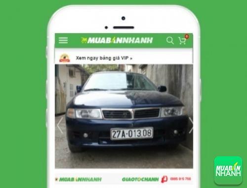 Xe ôtô Mitsubishi Lancer - sản phẩm đang bán trên mạng xã hội MuaBanNhanh