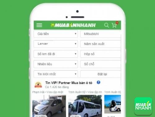 Tìm mua xe ôtô Mitsubishi Lancer hiệu quả trên Mạng xã hội MuaBanNhanh