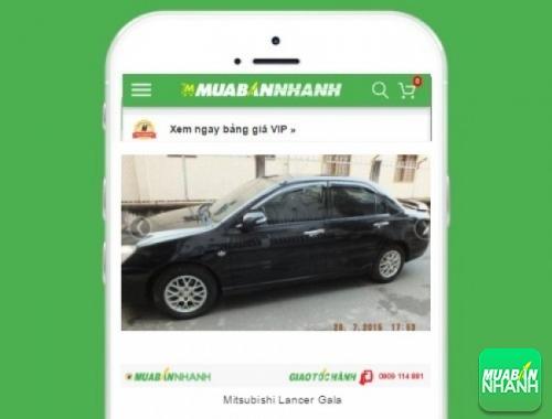 Xe ôtô Mitsubishi Lancer Gala - sản phẩm đang bán trên mạng xã hội MuaBanNhanh