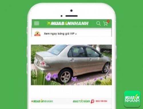 Xe ôtô Mitsubishi Lancer 1.6L - sản phẩm đang bán trên mạng xã hội MuaBanNhanh