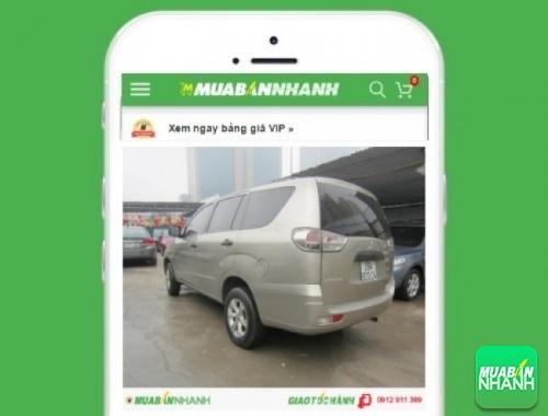 Xe ôtô Mitsubishi Zinger GLS AT - sản phẩm đang bán trên mạng xã hội MuaBanNhanh