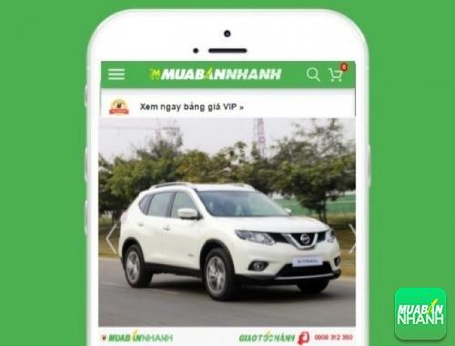 Xe ôtô Nissan - sản phẩm đang bán trên mạng xã hội MuaBanNhanh