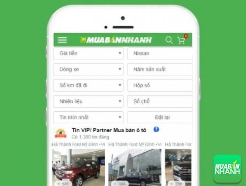 Tìm mua xe ôtô Nissan hiệu quả trên Mạng xã hội MuaBanNhanh