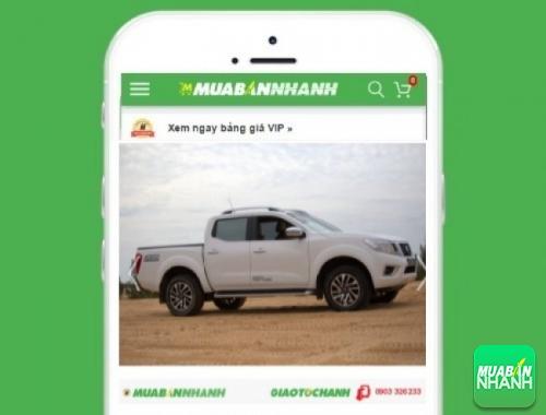 Xe ôtô Nissan Navara - sản phẩm đang bán trên mạng xã hội MuaBanNhanh