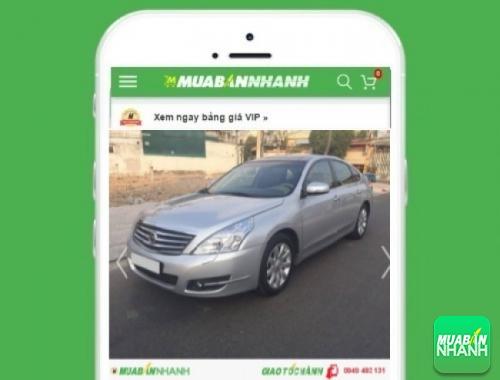 Xe ôtô Nissan Teana - sản phẩm đang bán trên mạng xã hội MuaBanNhanh