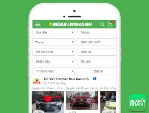 Tìm mua xe ôtô Nissan Teana hiệu quả trên Mạng xã hội MuaBanNhanh