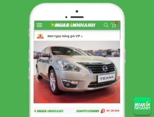 Xe ôtô Nissan Teana 2.5 SL AT - sản phẩm đang bán trên mạng xã hội MuaBanNhanh