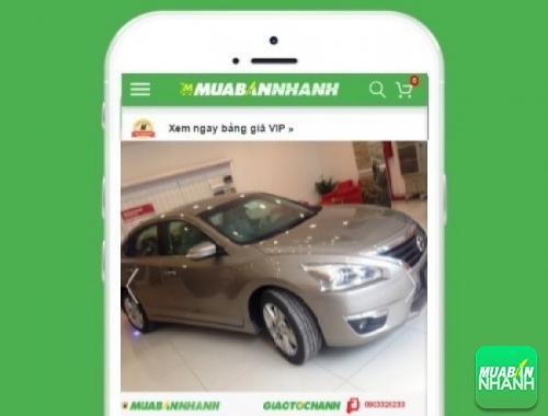Xe ôtô Nissan Teana 3.5 SL AT - sản phẩm đang bán trên mạng xã hội MuaBanNhanh