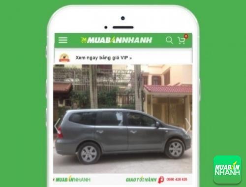Xe ôtô Nissan Livina - sản phẩm đang bán trên mạng xã hội MuaBanNhanh